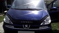 Дефлектор капота (мухобойка) Peugeot 807 2002-