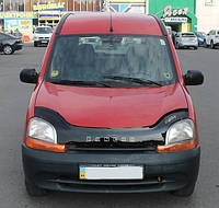 Дефлектор капота (мухобойка) Renault Kangoo 1997-2003