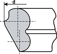 Кольцо резиновое 195мм (841.264.000.00-02) для герметизации труб НПВХ, ТУ 38.1051933-93 (Украина)