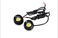 Дневные ходовые огни MC-DRL-20 (out diam: 25mm  H:15mm) 2*1 pcs high power led  1,0W/LED