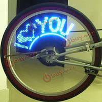 Светодиодная подсветка велосипедного колеса 40 режимов