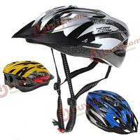 Велосипедный шлем со съемным козырьком 58-62см