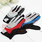 Перчатки спортивные велосипедные дышащие полный пальц, фото 2
