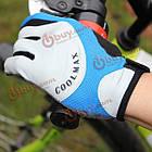 Перчатки спортивные велосипедные дышащие полный пальц, фото 3