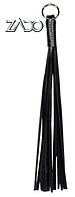 Черный кожаный кнут Leder Fingerpeitsche