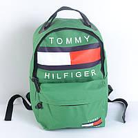 Стильный городской рюкзак Tommy Halfiger (зеленый)