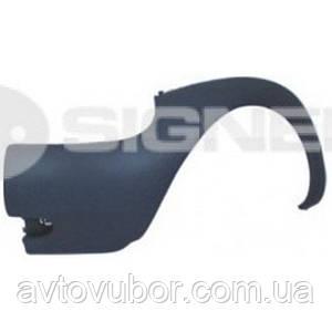 Бок переднего бампера правый Ford KA 96-08 PFD04001AR 1042322