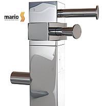 Полотенцесушитель электрический MARIO Ray кубо - I (Рей)  1100 x 30/130 (квадратный), фото 2