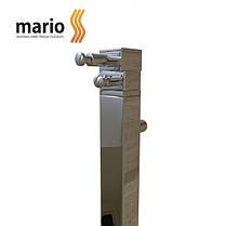 Полотенцесушитель электрический MARIO Ray кубо - I (Рей)  1100 x 30/130 (квадратный), фото 3