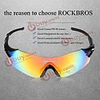 Rockbros красочный велосипед Велоспорт очки ветрозащитный очки, фото 8