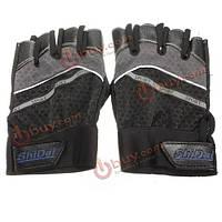 Велоспорт перчатки нескользящие перчатки без пальцев короткие половине прокат оборудования