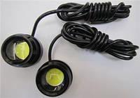 Дневные ходовые огни MC-DRL-20-3 blink (out diam: 35mm  H:32mm) 2*1 pcs high power led  3,0W/LED