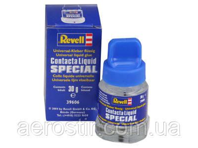 Клей Contacta Liguid SPECIAL для склеивания прозрачных деталей  30г.  REVELL 39606