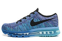 Женские кроссовки Nike Air Max Flyknit blue