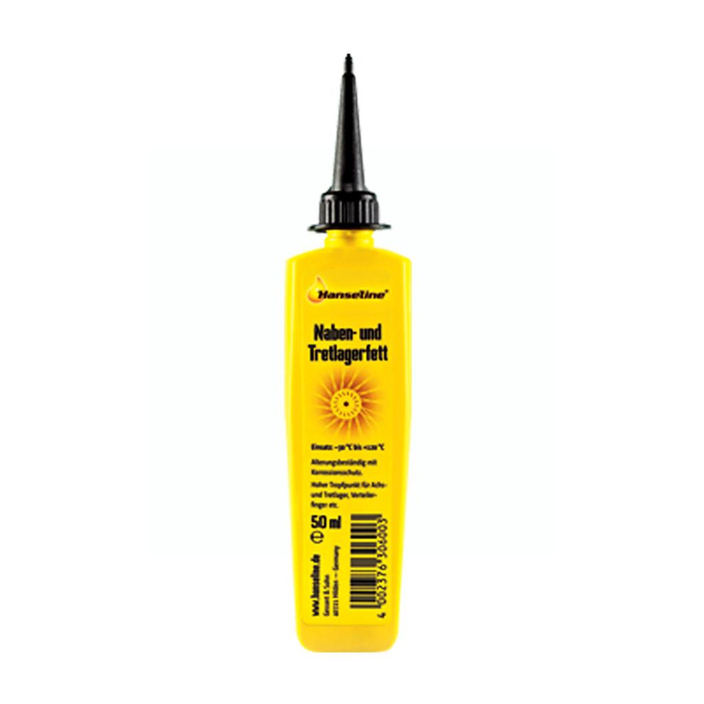 Смазка литевая для втулоки и кареток HANSELINE NABEN-UND TRETLAGERFETT, 50мл (ST)
