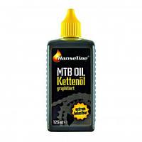 Смазка для цепи Hanseline BIO-MTB-OIL, 125мл (графитная) (ST)