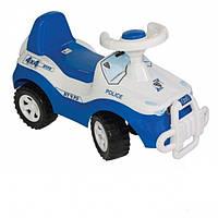 Каталка-толокар детская машинка Джипик Полиция Орион 105-1
