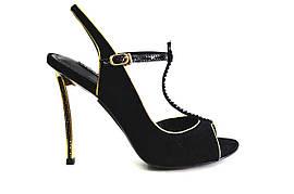 Босоножки женские Fashion pymes из натуральной кожи на каблуке, женские босоножки