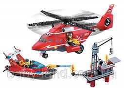 Конструктор детский 404 деталей Пожарная тревога BRICK 905