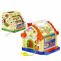 Домик музыкальный игра логика детская развивающая Joy Toy 9196