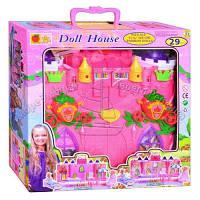Замок для кукол с мебелью детский игровой набор 3140, фото 1