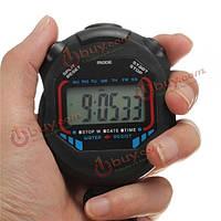 Секундомер хронограф цифровой таймер счетчик-часы спортивный