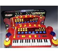 Синтезатор пианино детский со встроенным микрофоном Metr+ SK 6868