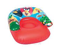 Кресло надувное Angry Birds детское Bestway 96106