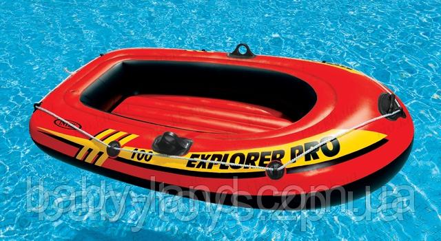 Лодка надувная одноместная Explorer 100 Intex 58355