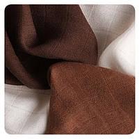 Бамбуковые пеленки XKKO® вмв коллекция Шоколад 30х30