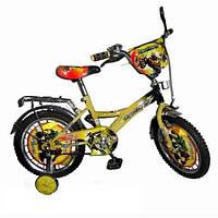 Велосипед 12 дюймов детский Трансформеры двухколесный Profi V 1122 T-1