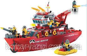 Конструктор детский Пожарная тревога BRICK 909