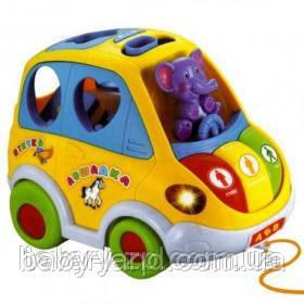 Машинка Автошка игра-логика детская развивающая Joy Toy 9198