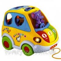 Машинка Автошка игра-логика детская развивающая Joy Toy 9198 , фото 1