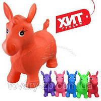 Прыгун лошадка резиновая для детей Bambi MS 0001, фото 1
