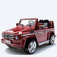 Электромобиль детский Мерседес Бенс AMG джип Bambi G 55 R-3 красный