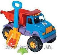 Машинка детская грузовик с лопатой и пасочками Интер Орион 191