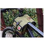 Сумка на раму велосипеда милитари Roswheel, фото 4