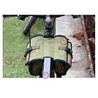 Сумка на раму велосипеда милитари Roswheel, фото 5