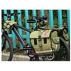 Сумка на раму велосипеда милитари Roswheel, фото 6