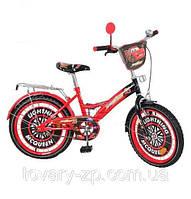 Велосипед 20 дюймов мульт Тачки для детей двухколесный Profi P 2031 C-1
