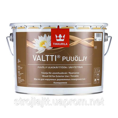 Масло для дерева Tikkurila Valtti Тиккурила Валти, 9 л