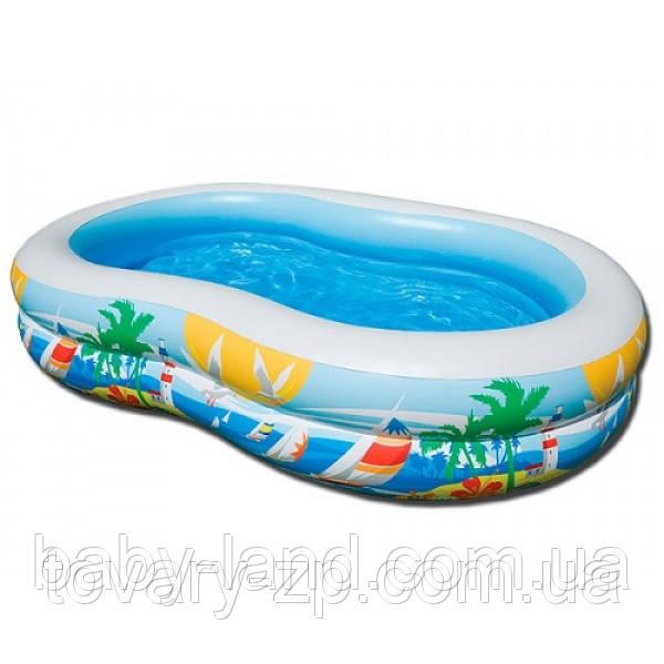 Бассейн надувной Intex Пляж детский 56490