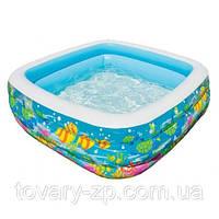 Бассейн надувной детский Аквариум Intex 57471