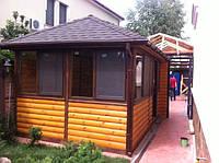 Строительство деревянных беседок, альтанок, пергол, навесов, фото 1