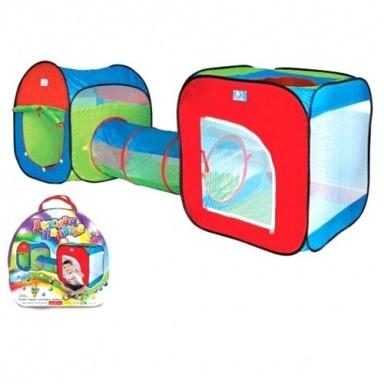 Двойная детская игровая палатка с тоннелем арт.2503
