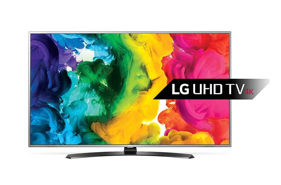Телевизор LG 49UH668v (PMI 1200Гц, UHD IPS Smart Wi-Fi HDRTrueBlack ColorPrime DVB-T2/S2)