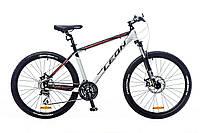 "Велосипед 26"" Leon XC-80 AM 14G DD рама-20"" Al 2016 (OPS-26-051-1) красно-черно-белый"