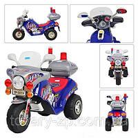 Мотоцикл-электромобиль для детей аккумуляторный Bambi ZP 2019-4
