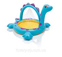 Бассейн надувной детский Динозаврик Intex 57437, фото 1
